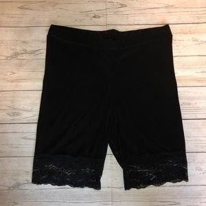 Lace Bike Shorts
